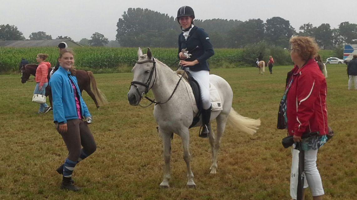 Elke is 5e geworden op de Brabantse Kampioenschappen!