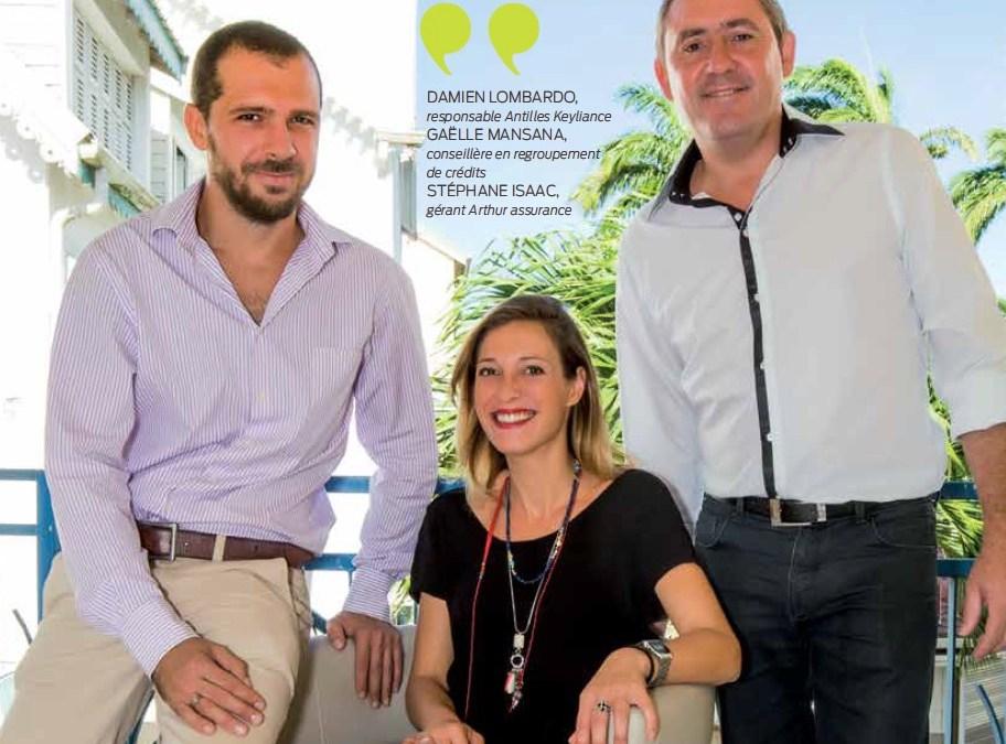 Keyliance : leader en regroupement de crédits aux Antilles