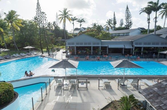Le quatre étoiles de la Guadeloupe La Créole Beach Hôtel & Spa