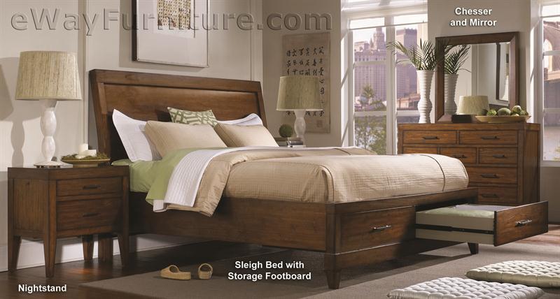 Hillsdale Furniture Bedroom Bombay Bed Set King Linen