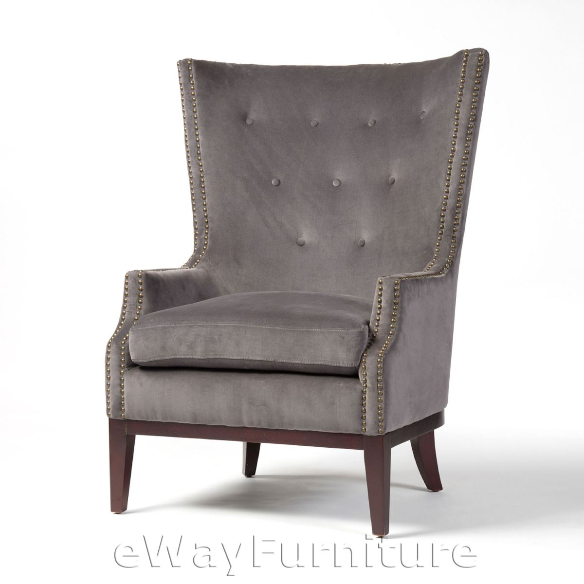 Kensington Lillian Occasional Chair Grey