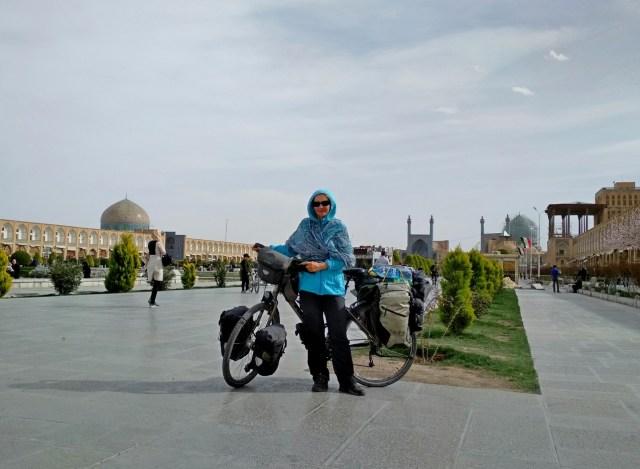 Iran rowerem