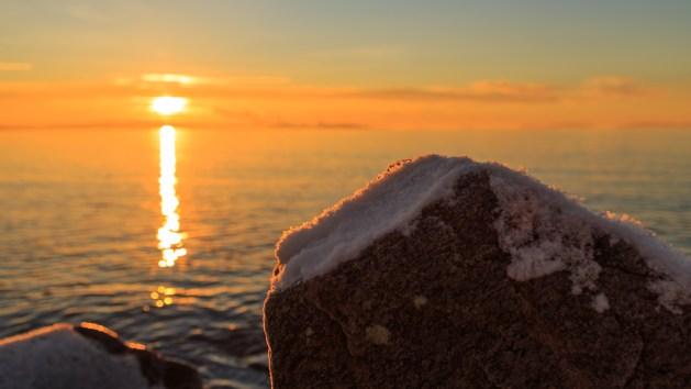 Soluppgång över Vänern