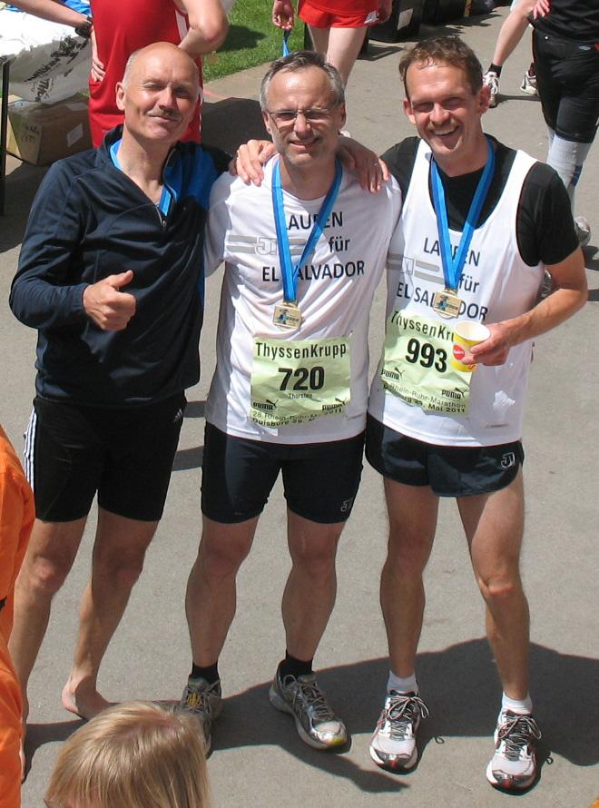 Erfolgreicher Sponsoren-Marathon für El Salvador