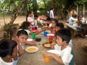 gesundes Essen in der Schule