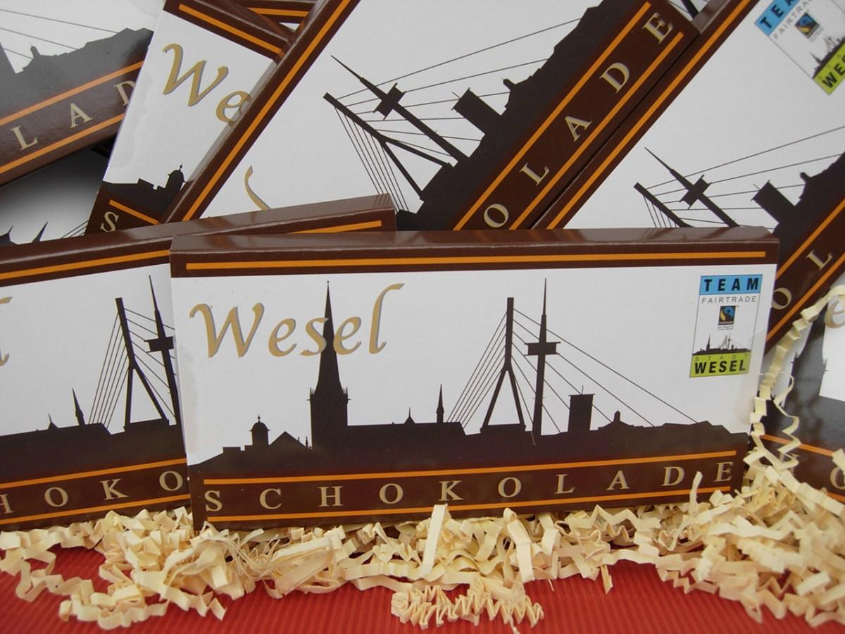 Wesel hat eine faire Stadt-Schokolade!