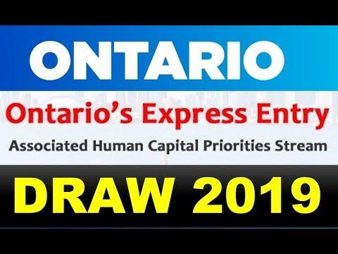 Ontario Express Entry: Human Capital Priorities Stream
