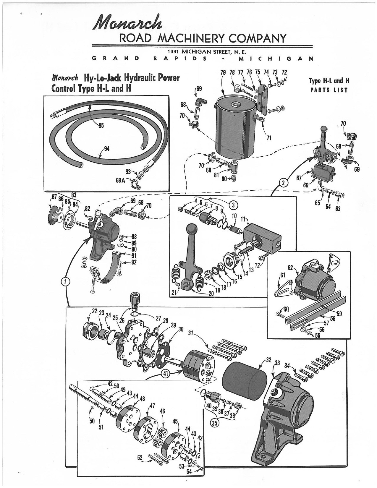 Monarch Hy Lo Hydraulic Brochure