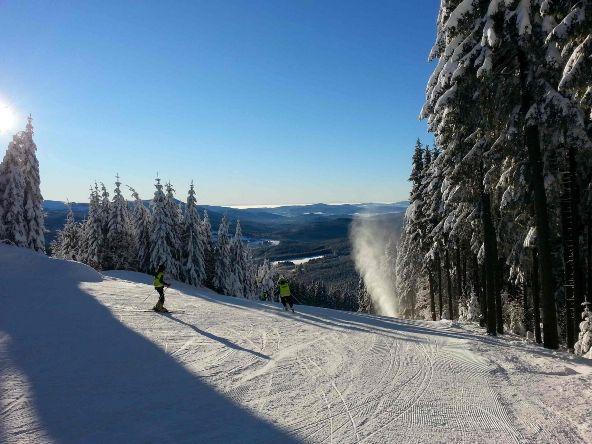 Šumavský Ski&Bike Špičák hlásí prvotřídní sněhové podmínky