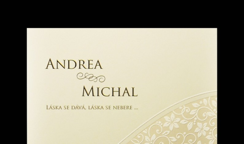 Svatební oznámení jako vzpomínka na nejkrásnější den