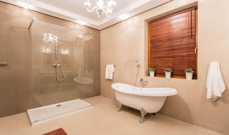 Komfortní koupelna od skvělé designérky