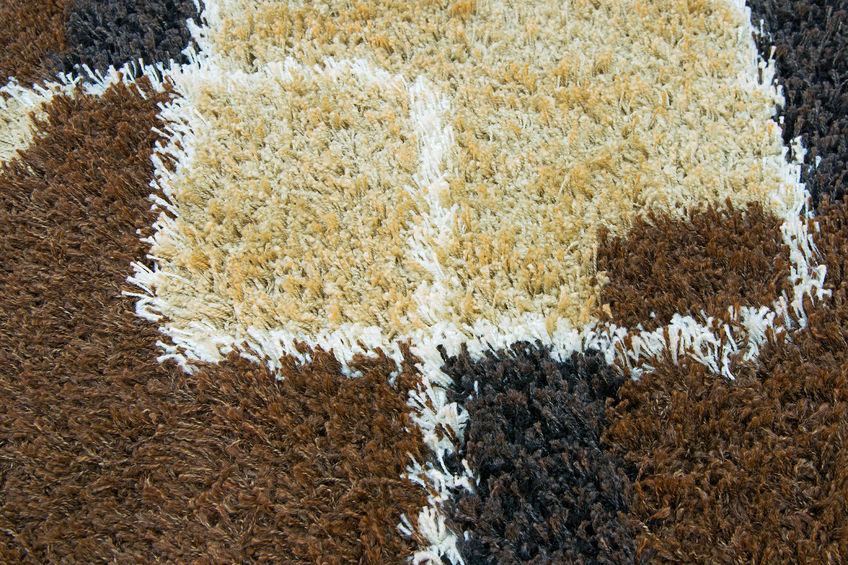 37987287 – colorful of carpet texture