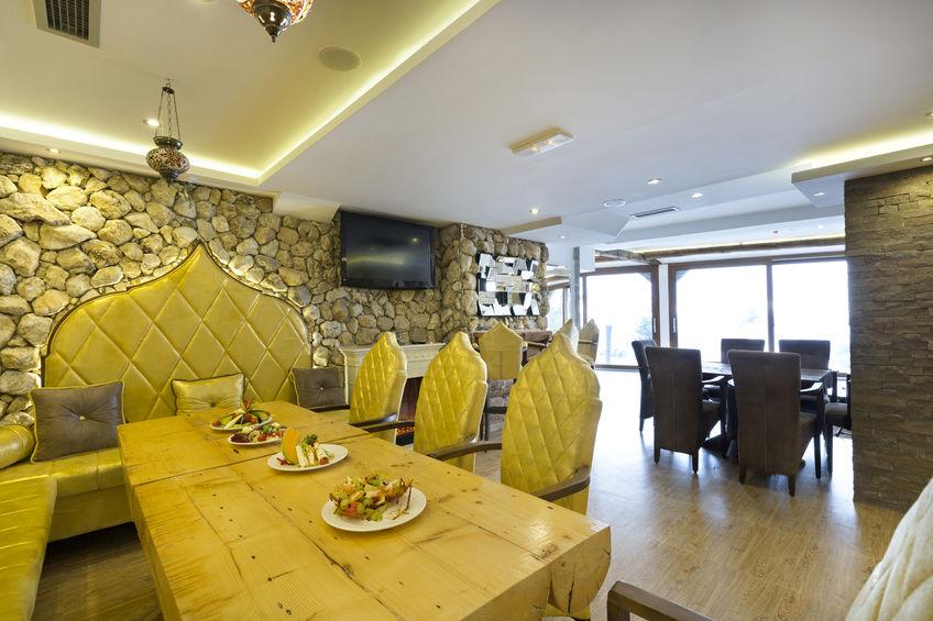 36855496 – modern restaurant interior
