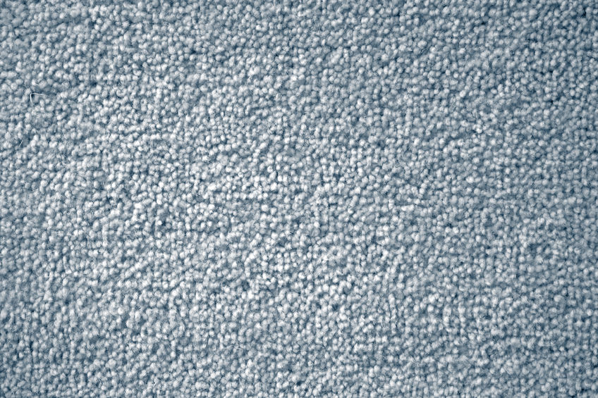 42816594 – closeup of blue carpet texture