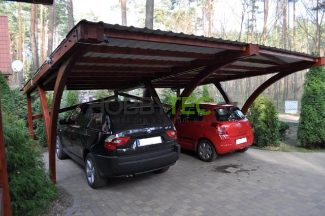 Dřevěné přístřešky na auto od společnosti Hobbytec, proč vítězí?