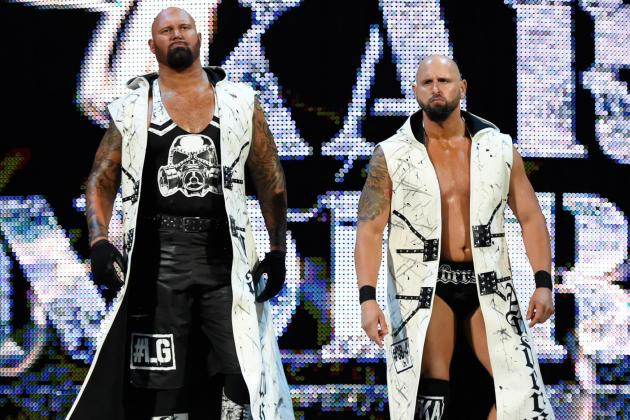 Image result for Anderson & Gallows to Smackdown Live