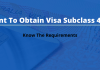 obtain visa subclass 491