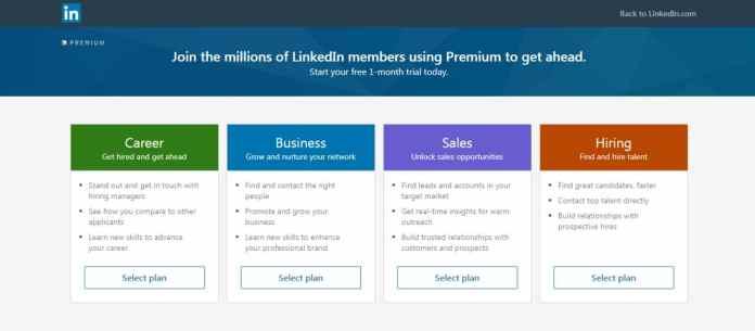 sites like facebook linkedin plans