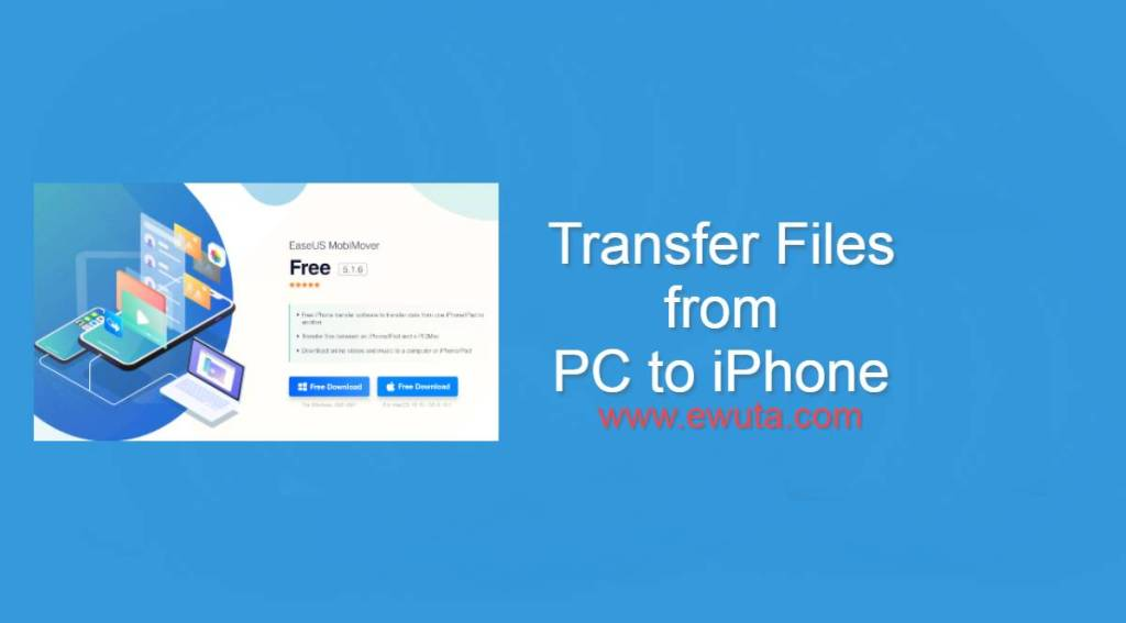 Transfer Files from PC to iPhone without iTunes