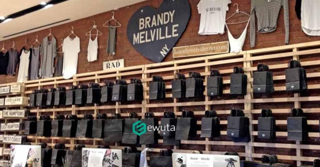 stores like Brandy Melville