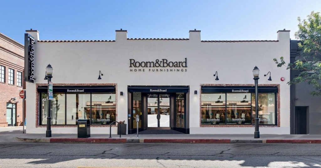 Room & Board stores like crate ad barrel