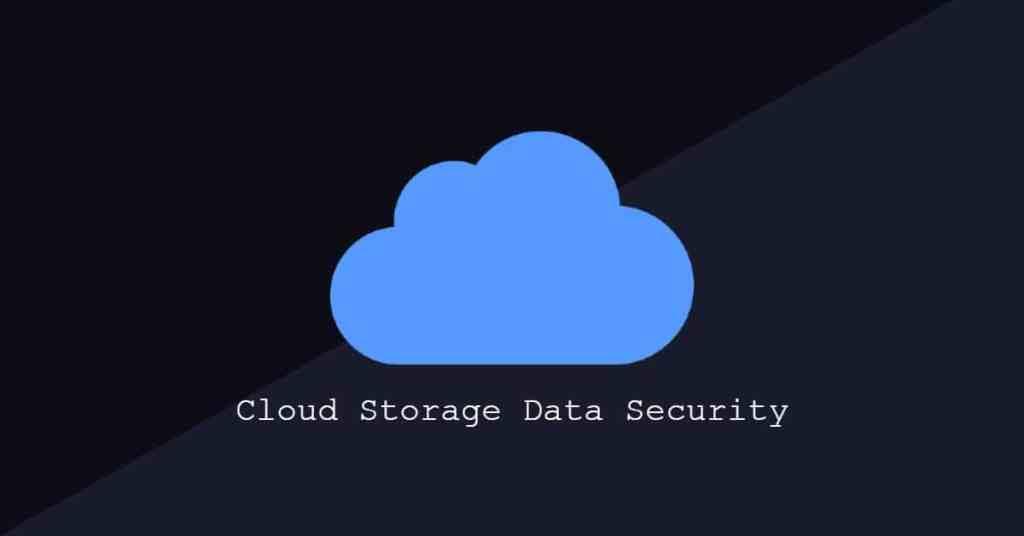Secure Cloud Storage Data