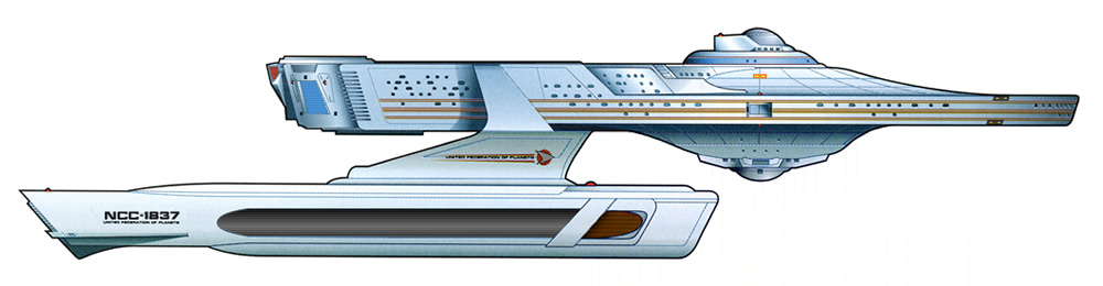 Star Trek Ship Specifications