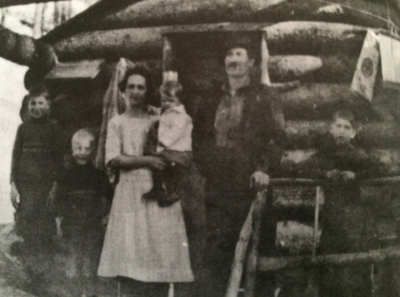 Irene Howard Log Cabin