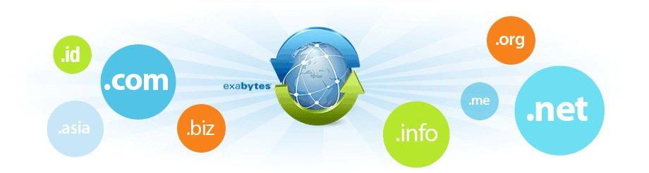 Ekstensi Domain Exabytes