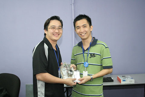 Exabytes 2nd Typing Competition winner