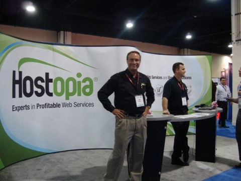 hostopia HostingCon 2009 event photo