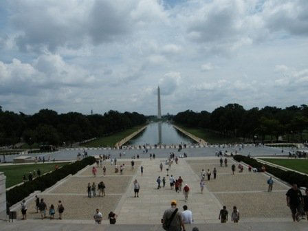 "Lincoln Memorial - the ""Reflecting Pool"""
