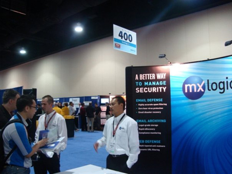 mx logic HostingCon 2009 event photo