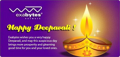 Happy Deepavali exabytes network