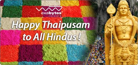 Happy Thaipusam to all Hindus