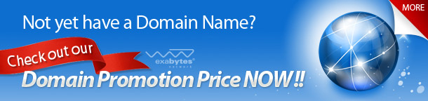 domain name promotion