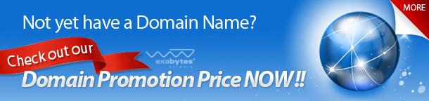 domain name promotion