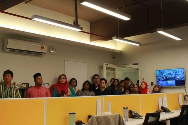 Exabytes Puchong office Hari Raya open house 7
