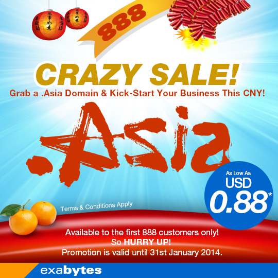 .asia domain name crazy sale