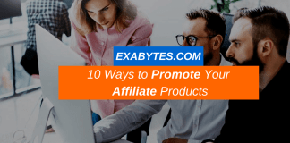 10 Ways to Promote Your Affiliate Products