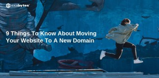 move your website to a new domain