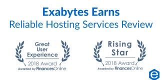 Exabytes earns reliable hosting service review