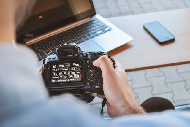 freelance photography stock photo