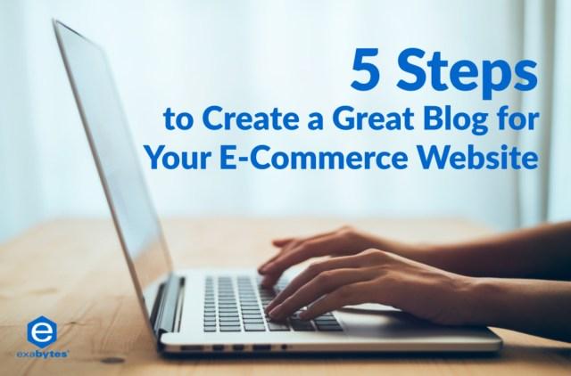 5 steps create great blog