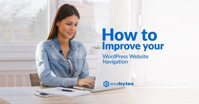 How to Improve your WordPress Website Navigation