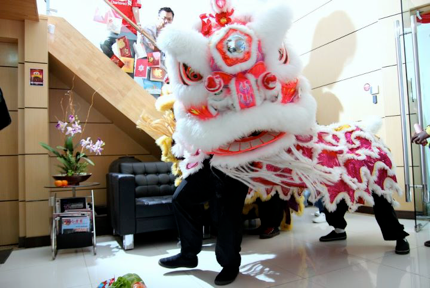 Exabytes Lion Dance