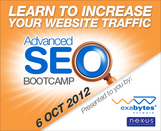 Learn to increase your website traffic - advanced SEO bootcamp