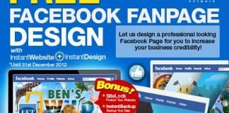 Exabytes InstantWebsite Free Facebook Page Design