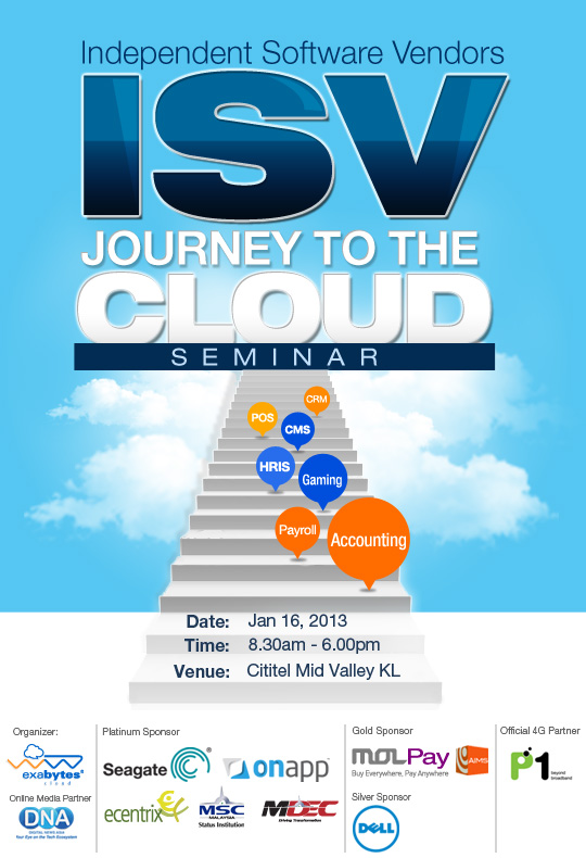 Exabytes ISV Journey To The Cloud Seminar