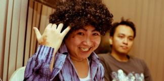 Male Retro Curly Hair